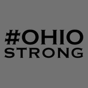 Ohio Strong - Adult Tri Blend T Design
